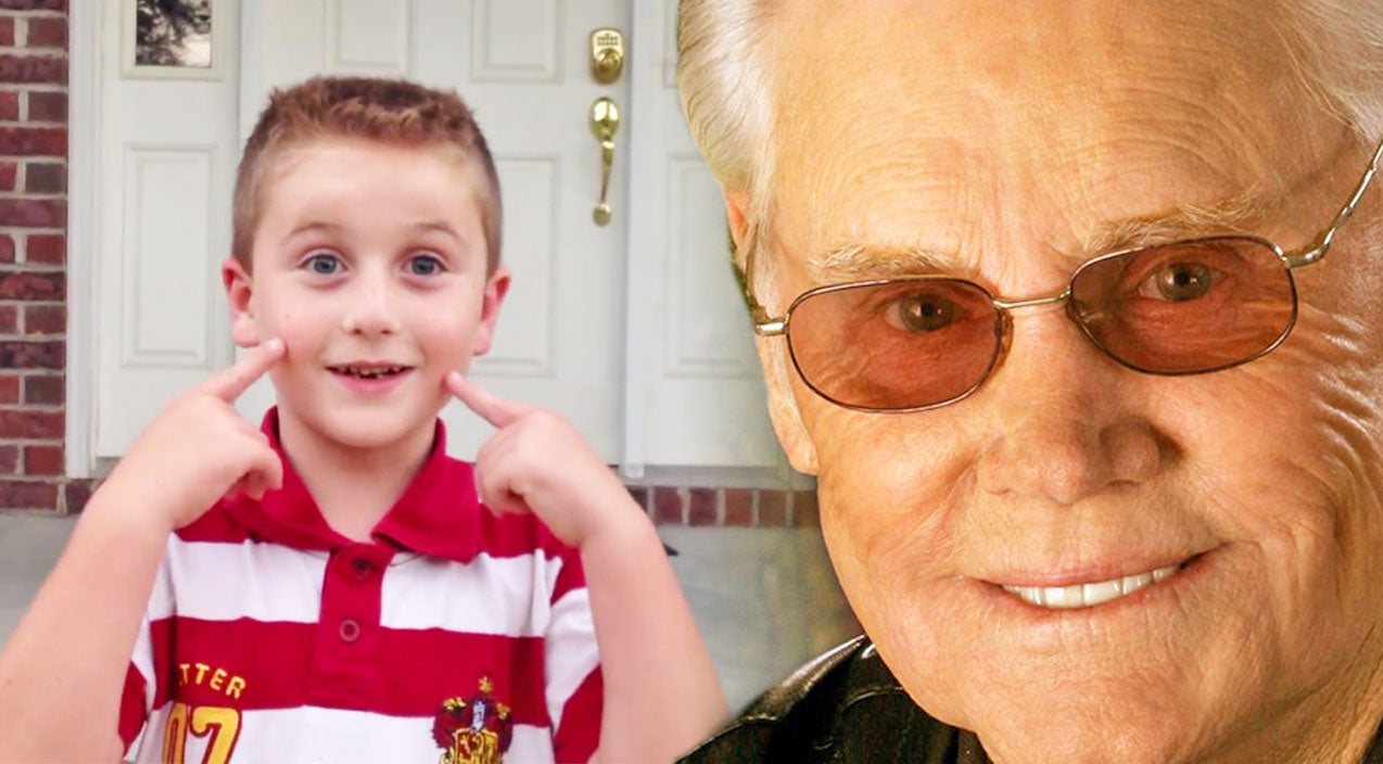 George jones Songs | Little Boy Sings George Jones'