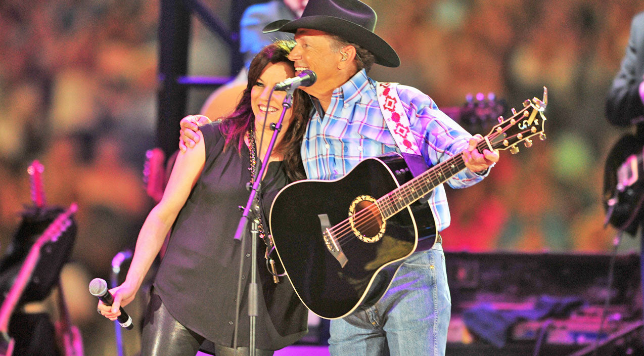 Martina mcbride Songs | George Strait And Martina McBride Channel Their Inner Johnny & June (VIDEO) | Country Music Videos