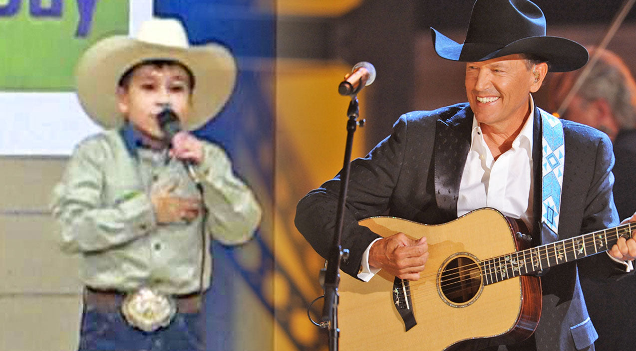 George strait Songs | Little Cowboy Singing George Strait's 'Amarillo By Morning' Will Make Y'all Want To Saddle Up | Country Music Videos