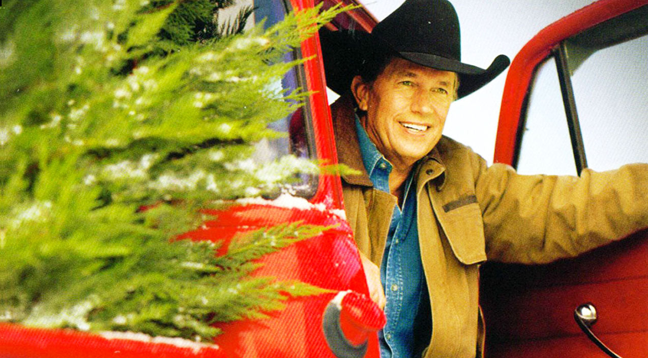 George strait Songs | George Strait Shows His Lone Star State Pride With 'When It's Christmas Time In Texas' | Country Music Videos