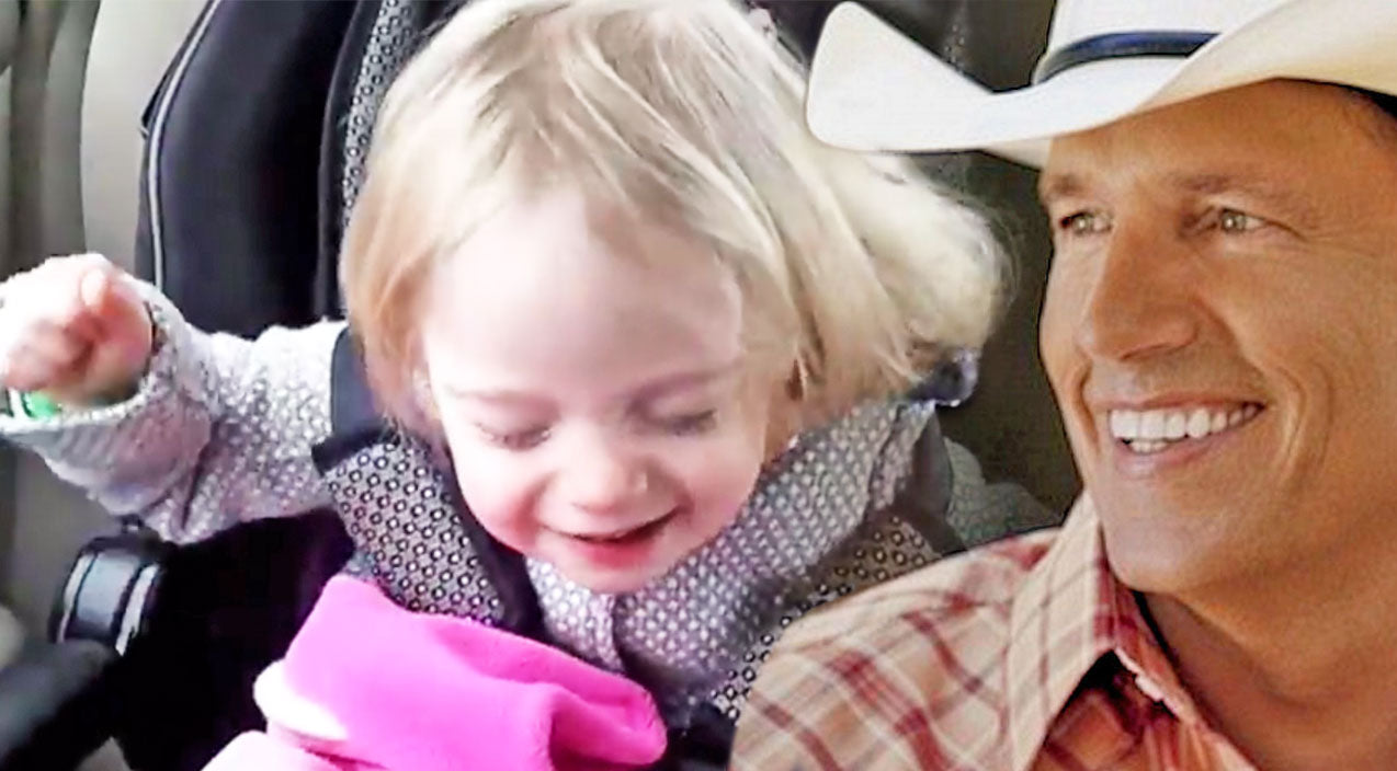 George strait Songs | 2-Year-Old Rocking Out To George Strait (VIDEO) | Country Music Videos