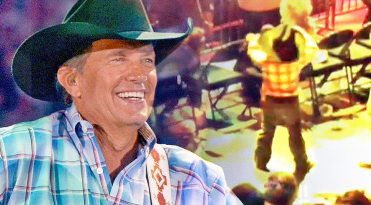 George strait Songs | Little Troubadour Steals Show At George Strait Concert | Country Music Videos