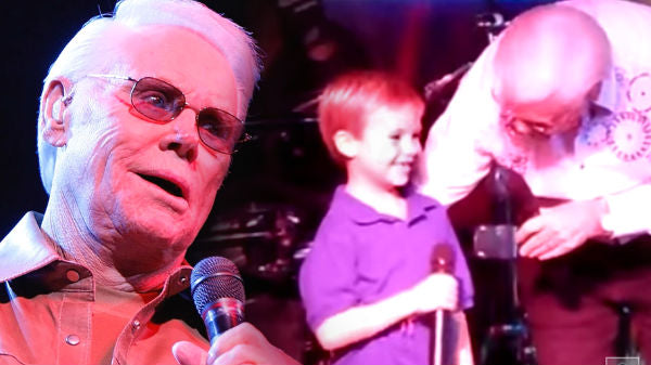 George jones Songs | George Jones - Pint Sized Prodigy Performs With The Possum! (LIVE) | Country Music Videos