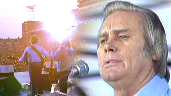 George jones Songs   George Jones - Tennessee Whiskey (Live at Farm Aid 1985) (WATCH)   Country Music Videos