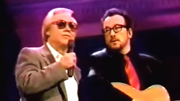 George jones Songs | George Jones and Elvis Costello - Stranger In The House | Country Music Videos