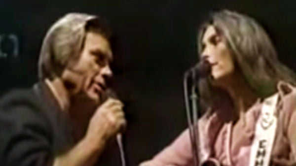 George jones Songs | George Jones and Emmylou Harris - Here We Are (Live) | Country Music Videos