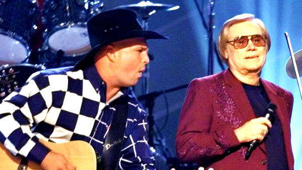 George jones Songs | George Jones and Garth Brooks - Beer Run (Live) | Country Music Videos