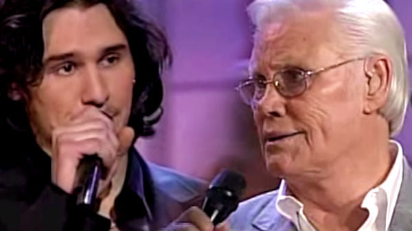 Joe nichols Songs | George Jones and Joe Nichols - Yesterday's Wine (on Opry Live) | Country Music Videos