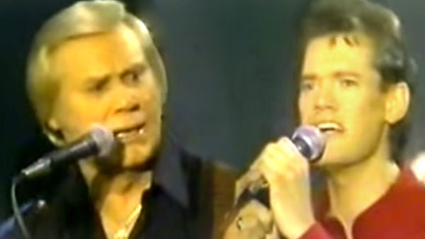 Randy travis Songs | George Jones and Randy Travis - Wabash Cannonball | Country Music Videos