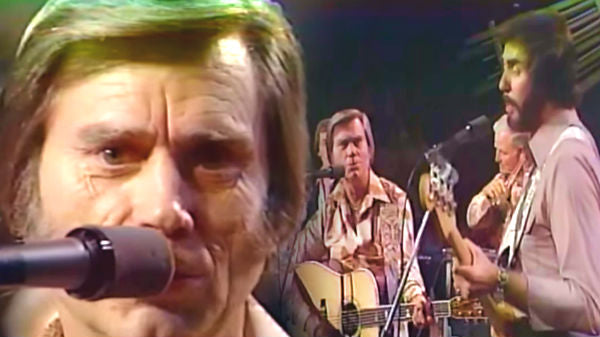 George jones Songs | George Jones and Ray Emmett - He Stopped Loving Her Today (1980 Live) | Country Music Videos