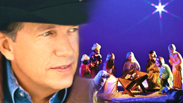 George strait Songs | George Strait - Away In A Manger (VIDEO) | Country Music Videos