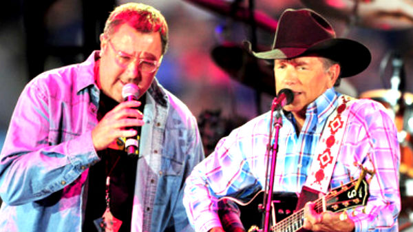 Vince gill Songs | George Strait - Lovebug ft. Vince Gill (The Cowboy Rides Away Tour) (VIDEO) | Country Music Videos