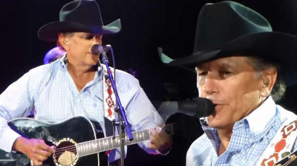 George strait Songs | George Strait - The King Of Broken Hearts (LIVE San Antonio) | Country Music Videos