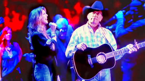George strait Songs | George Strait and Faith Hill sing - Let's Fall To Pieces Together | Country Music Videos