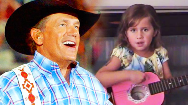 George strait Songs | Adorable Little Girl Covers George Strait's