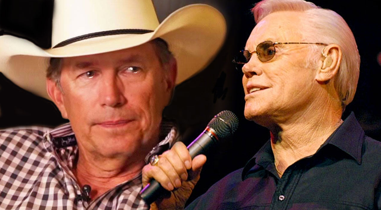 George strait Songs | George Strait Gets Emotional Reminiscing About His Idol And Friend, George Jones | Country Music Videos