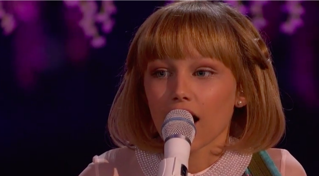 Grace vanderwaal Songs | Grace VanderWaal Brings Judges To Their Feet During 'America's Got Talent' Finale | Country Music Videos