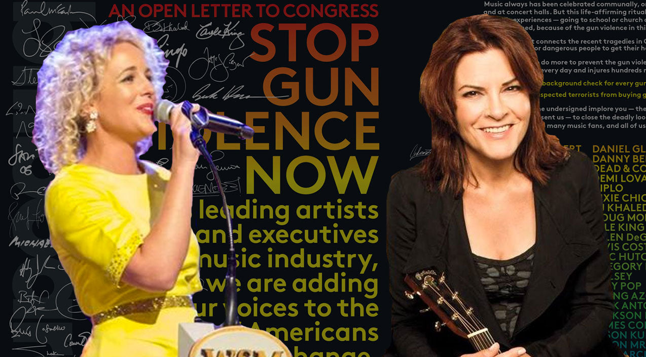 Country Stars Take Strong Stance On Gun Safety | Country Music Videos