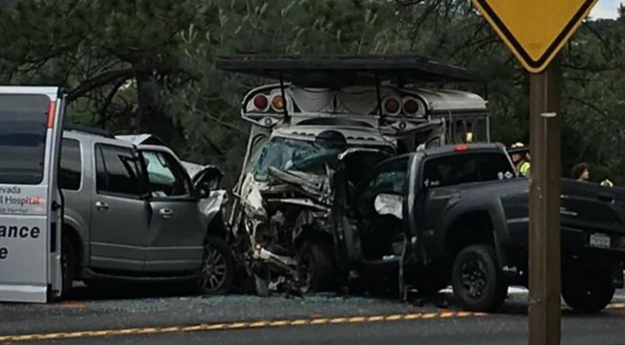 Duo Injured After Devastating Head-On Bus Crash | Country Music Videos