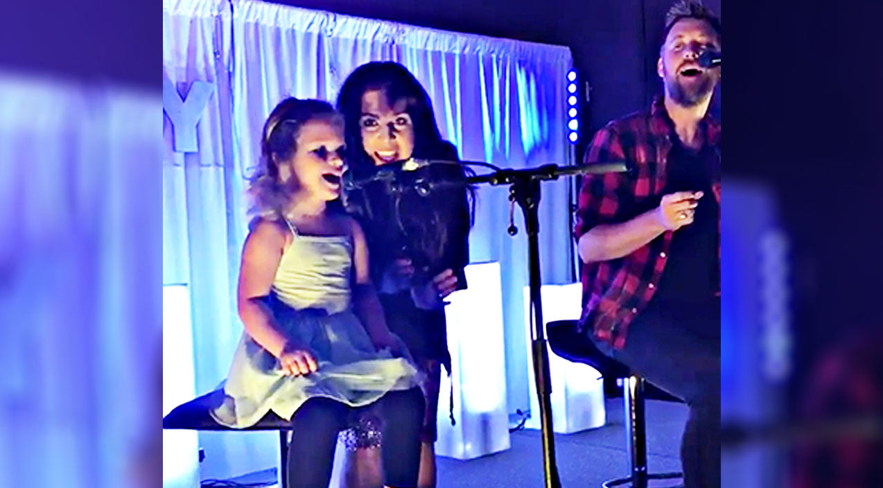 Lady antebellum Songs   Hillary Scott's Precious Baby Girl Makes Musical Debut In Cutest Way Possible   Country Music Videos