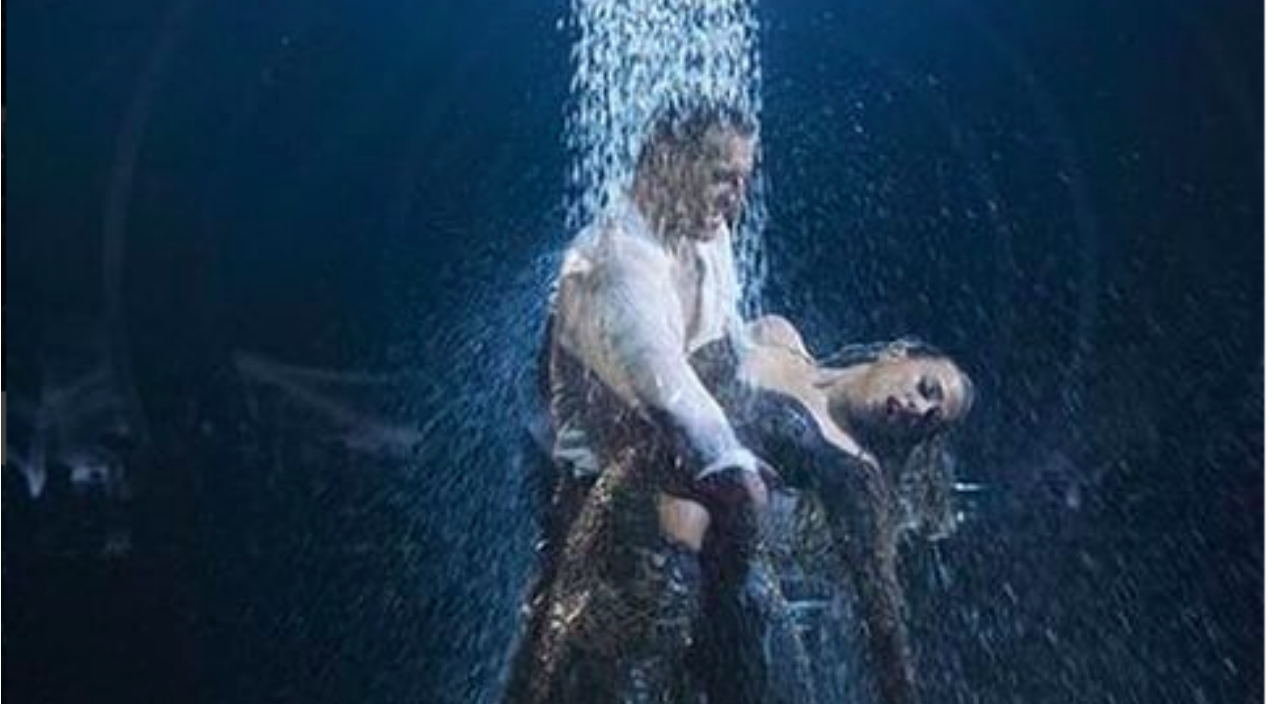 Jana kramer Songs | Jana Kramer Gets A Shower And Perfect Score After Steamy Tango On 'DWTS' | Country Music Videos