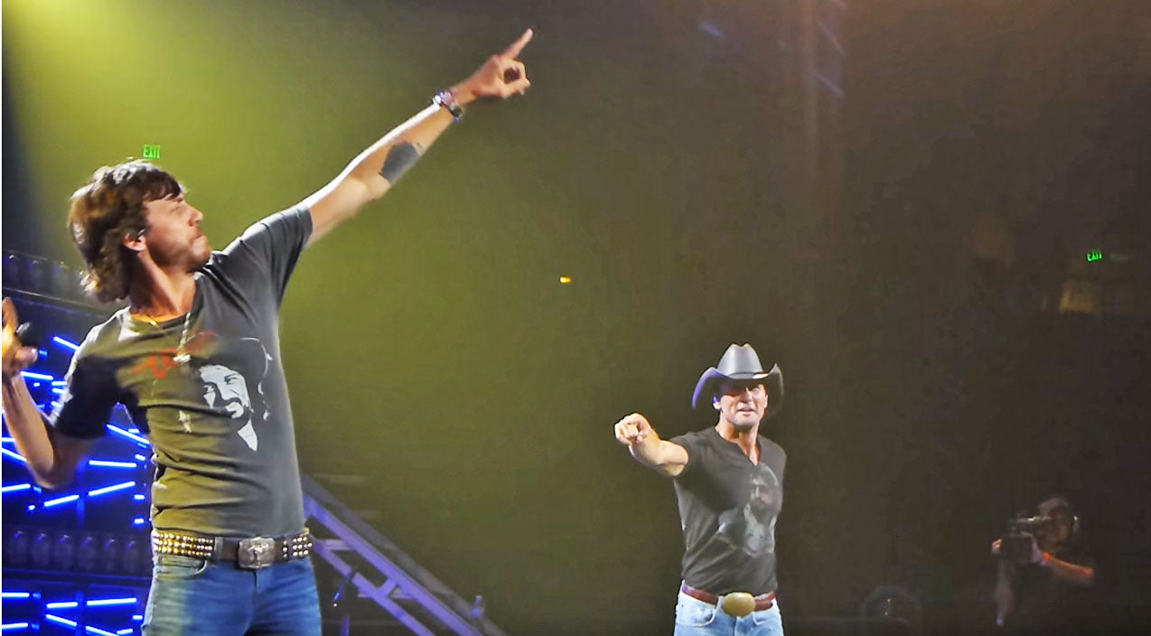 Tim mcgraw Songs | SURPRISE: Tim McGraw & Chris Janson Stun Nashville With 'Buy Me A Boat' Duet | Country Music Videos