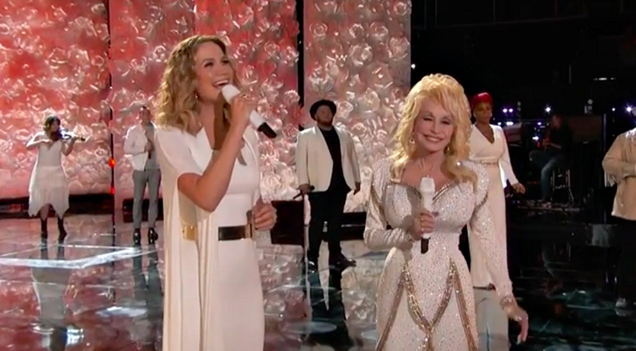 Dolly Parton Joined By Jennifer Nettles And \'Voice\' Top 10 For ...