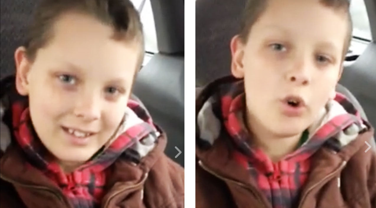 Montgomery gentry Songs | 9-Year-Old Autistic Boy Can Barely Speak, But Pours His Heart Into Montgomery Gentry Cover | Country Music Videos