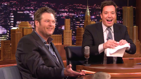 Blake shelton Songs | Jimmy Fallon Tries To Impress Blake Shelton With His Singing (WATCH) | Country Music Videos