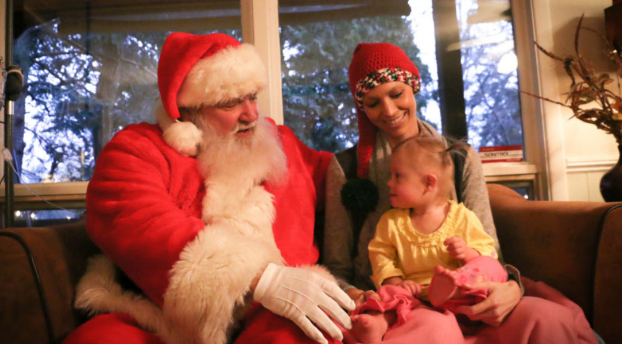 Santa Visits Joey+Rory | Country Rebel