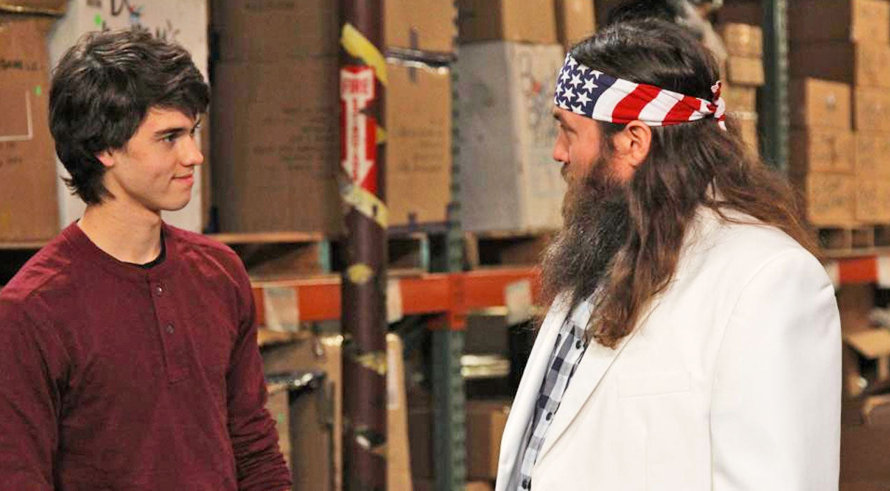 Duck dynasty Songs | Willie Robertson Reveals The HILARIOUS Truth About His Son John Luke's, 'Lack Of Beard' | Country Music Videos