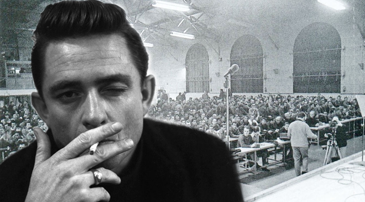 Johnny cash Songs | Johnny Cash Performs 'San Quentin' Live From Prison In Rare Footage | Country Music Videos