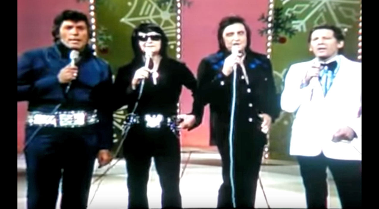 Roy orbison Songs | Johnny Cash & Jerry Lee Lewis Lead Legends In Tribute Mourning Elvis' Recent Death | Country Music Videos
