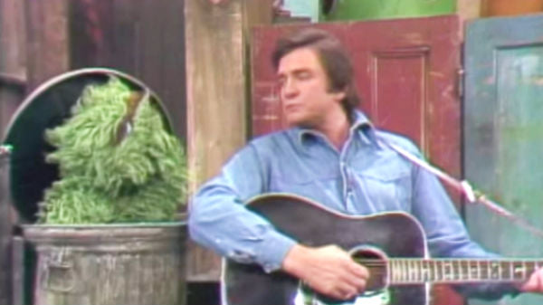 Johnny cash Songs | Johnny Cash - Nasty Dan (Sesame Street Live) | Country Music Videos