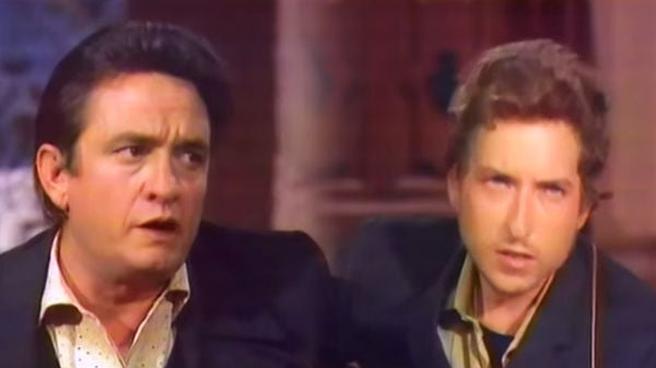 Johnny cash Songs | Johnny Cash and Bob Dylan - Girl From The North Country | Country Music Videos