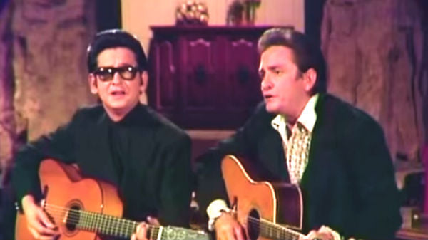 Johnny cash Songs | Johnny Cash and Roy Orbison - Oh, Pretty Woman (The Johnny Cash Show Live) | Country Music Videos
