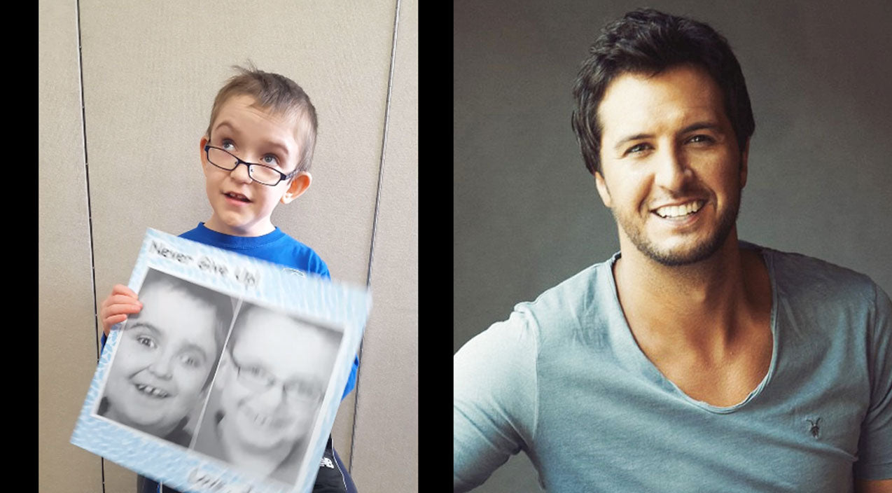 Modern country Songs   Third-Grader With Cerebral Palsy Makes A Heartfelt Plea To Luke Bryan   Country Music Videos