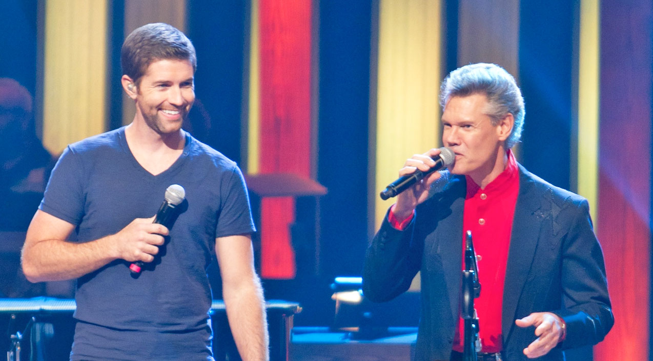 Randy travis Songs | Josh Turner Wows In Unforgettable Duet Of 'Long Black Train' With Randy Travis | Country Music Videos