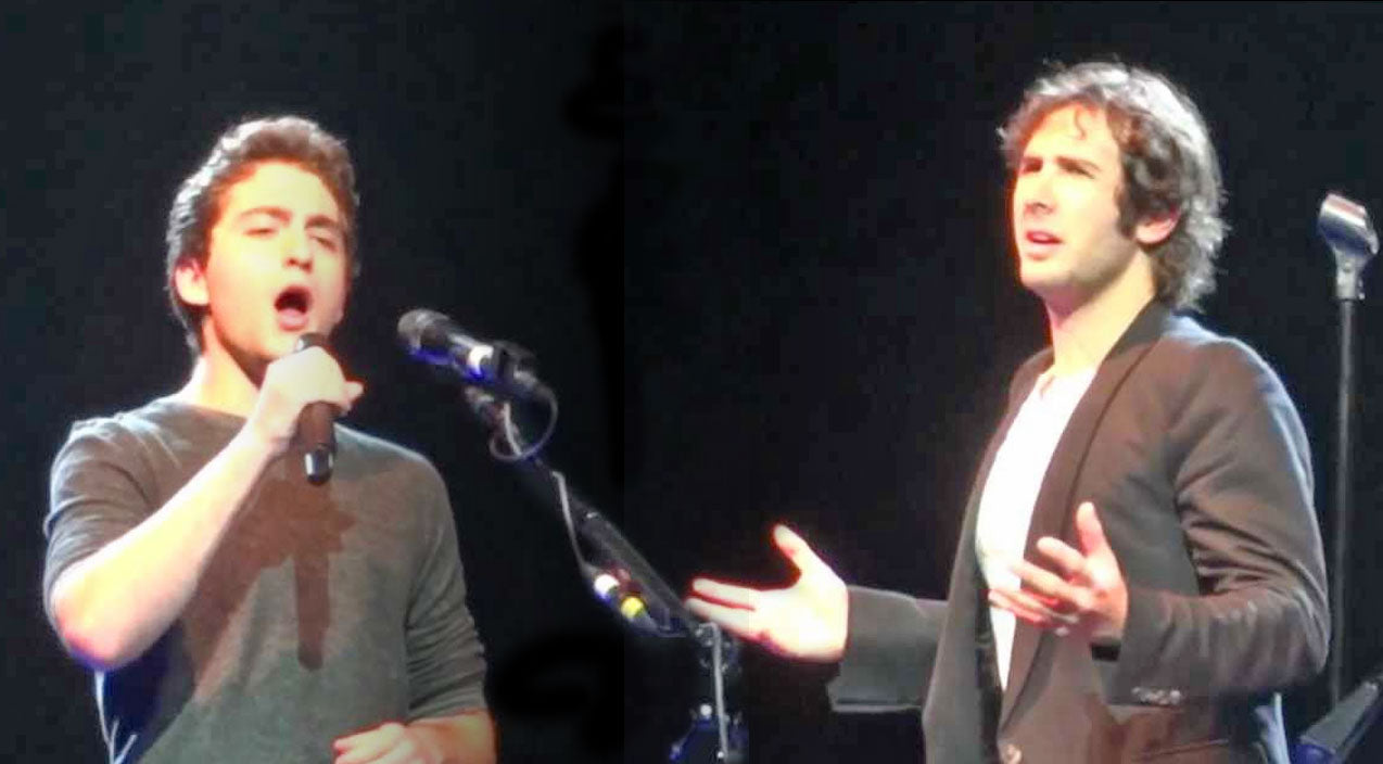 Josh groban Songs | Josh Groban Meets A Man From The Audience...And He Sounds Just Like Him! | Country Music Videos
