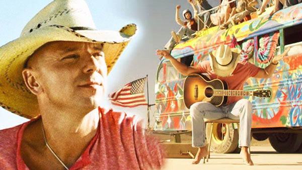 Kenny chesney Songs | Kenny Chesney Jams With 'American Kids' In Carefree Music Video (WATCH) | Country Music Videos