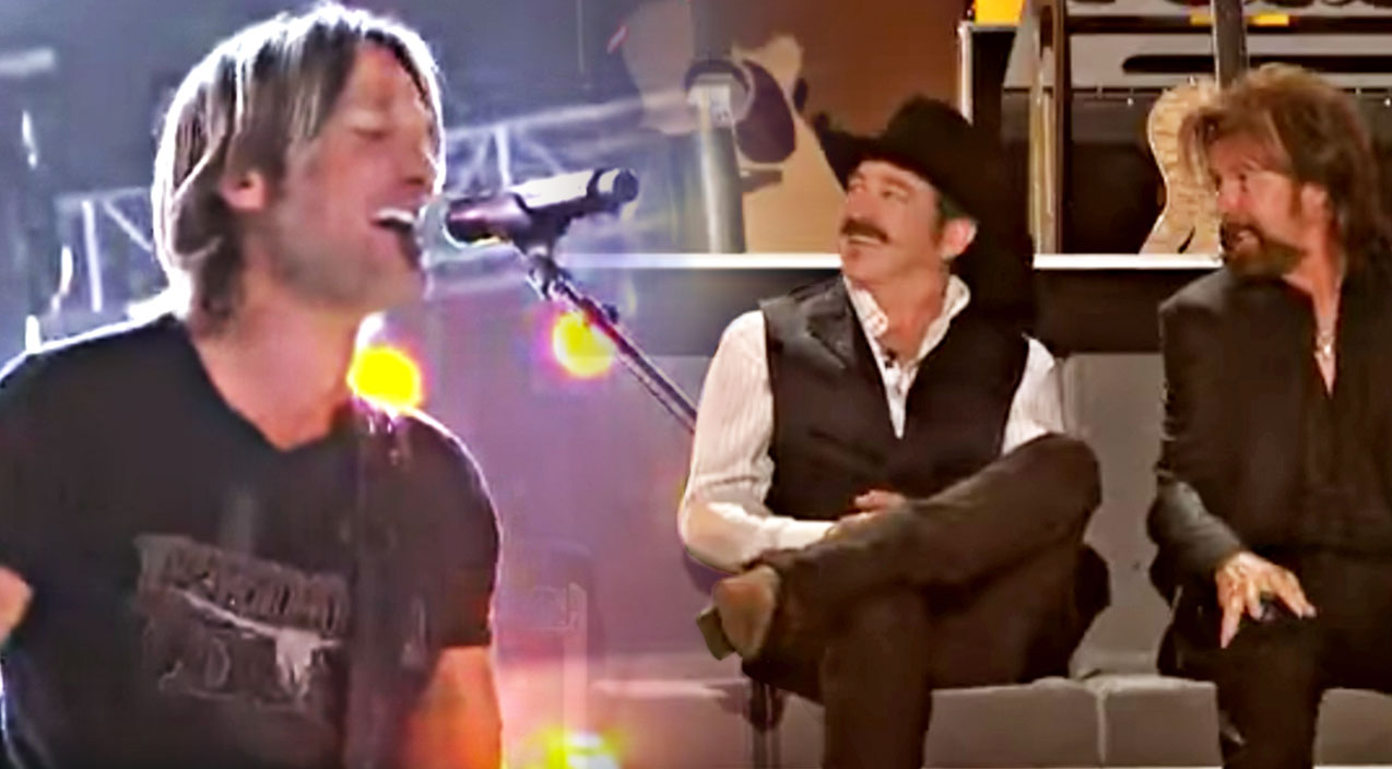 Keith urban Songs | Keith Urban's Killer 'Brand New Man' Tribute Has Brooks & Dunn Beaming With Pride | Country Music Videos
