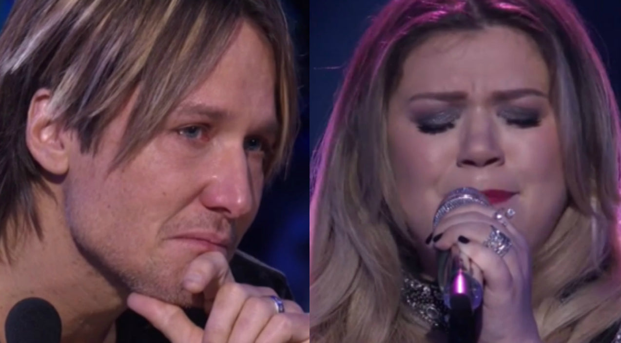 Kelly clarkson Songs | Keith Urban Explains His Emotional Reaction To Kelly Clarkson's 'Idol' Performance | Country Music Videos
