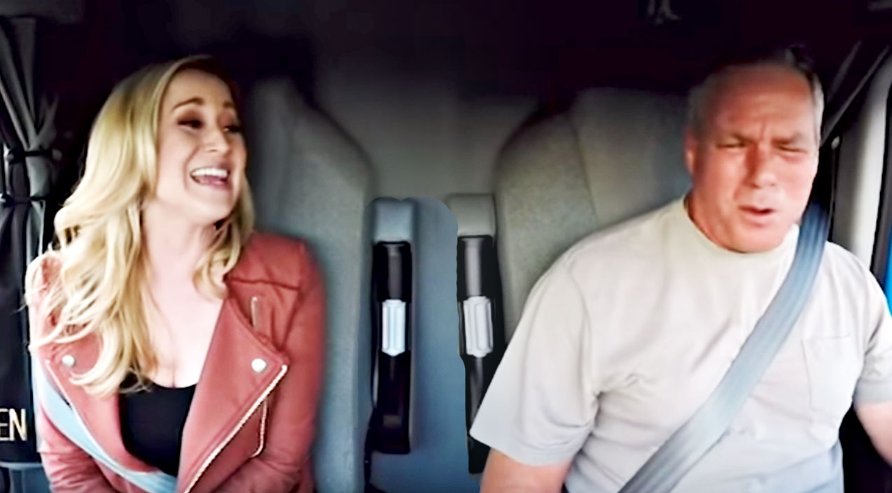 Viral content Songs | Kellie Pickler & Singing Trucker Deliver Spontaneous Keith Whitley Duet | Country Music Videos