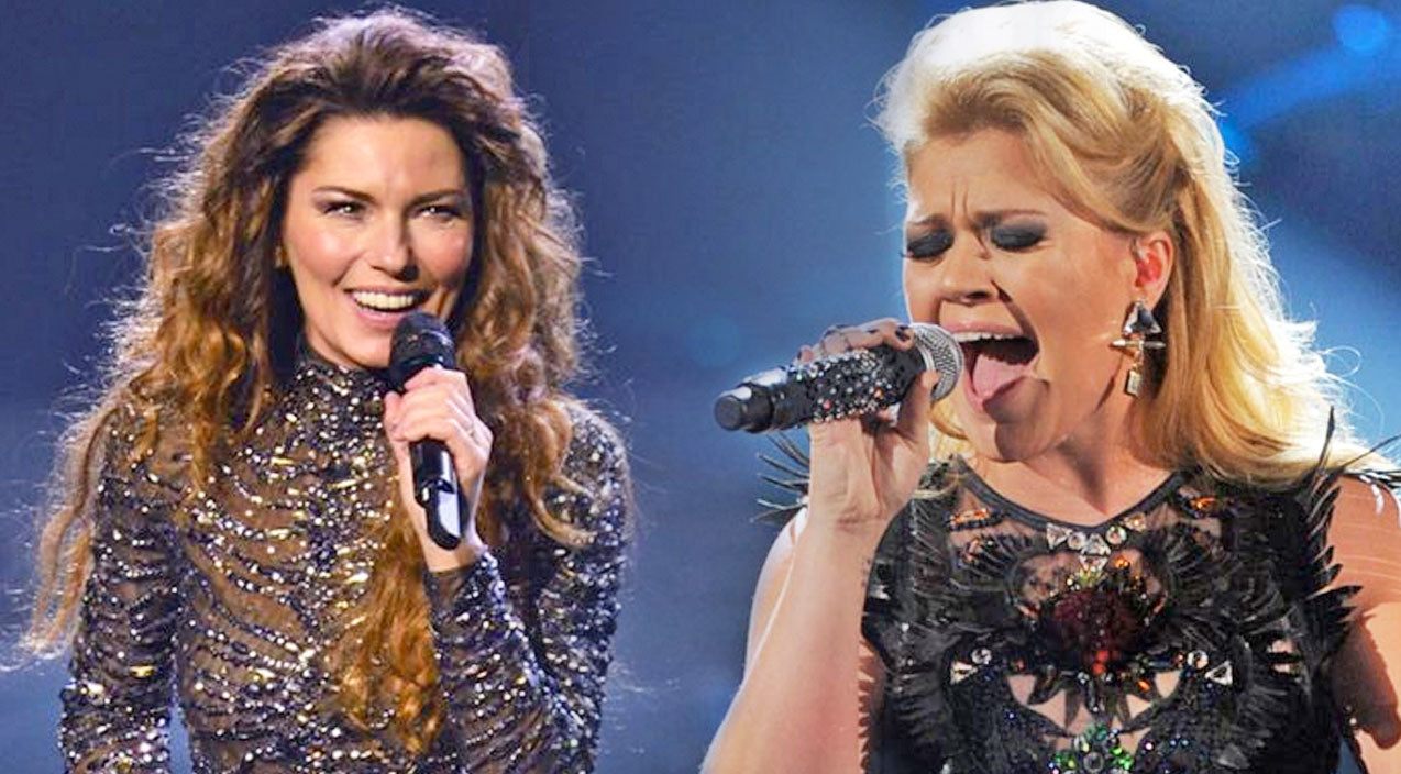 Shania twain Songs | Kelly Clarkson Stuns With Shania Twain's Classic, 'You're Still The One' | Country Music Videos
