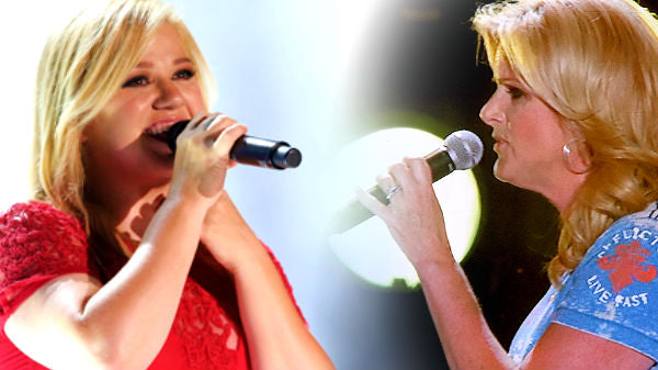 Trisha yearwood Songs | Kelly Clarkson and Trisha Yearwood - Ain't Going Down (Garth Brooks Cover) | Country Music Videos