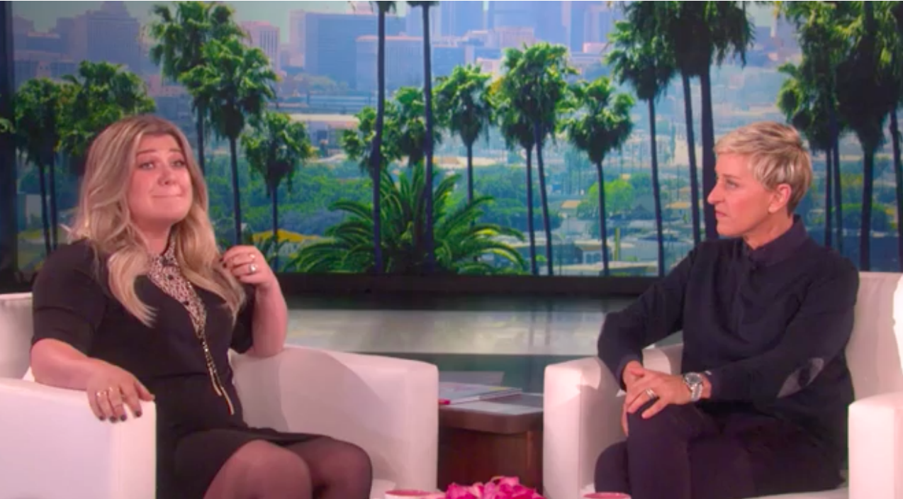 Kelly clarkson Songs | Kelly Clarkson Makes Shocking Confession To Ellen, Says She's 'Going Straight To Hell' | Country Music Videos