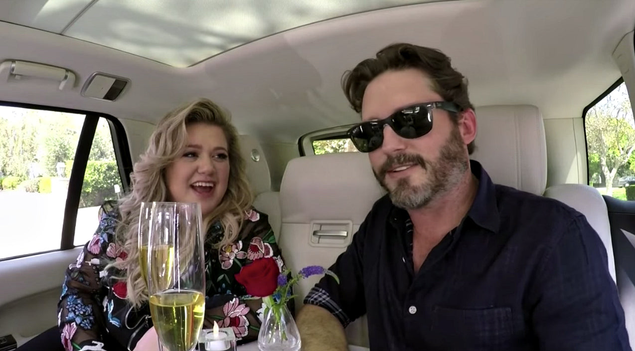 Kelly clarkson Songs | Kelly Clarkson Surprised By Hilariously Awkward Date With Husband During Carpool Karaoke | Country Music Videos