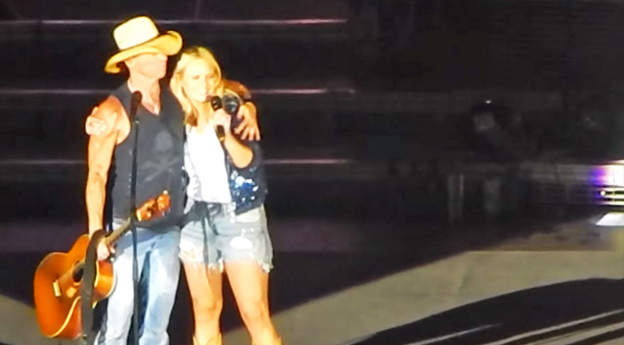 Modern country Songs | Kenny Chesney & Miranda Lambert Stop Mid-Concert To Sing 'Carried Away' | Country Music Videos
