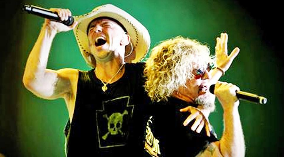 Sammy hagar Songs | Van Halen Rockstar Crashes Kenny Chesney's Party, Shatters Records | Country Music Videos