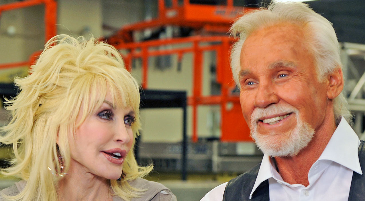 Kenny rogers Songs | Kenny Rogers Dishes On Flirting With Dolly (WATCH) | Country Music Videos